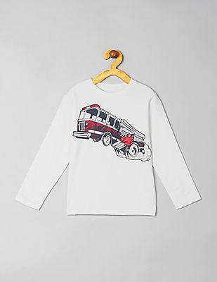 GAP Baby Long Sleeve Graphic T-Shirt