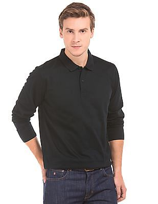Gant Long Sleeve Jersey Polo Shirt