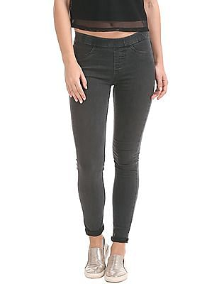 Cherokee Regular Fit Washed Jeggings