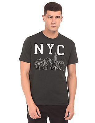 Aeropostale Applique Front Slub T-Shirt
