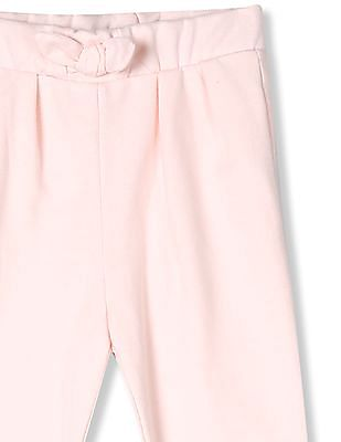 The Children's Place Toddler Girl Pink Active Solid Rolled Cuff Pants
