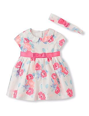 The Children's Place Baby Girls Floral Dress Set