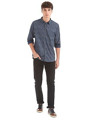 Cherokee Contemporary Fit Printed Shirt