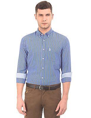 U.S. Polo Assn. Striped Button Down Shirt
