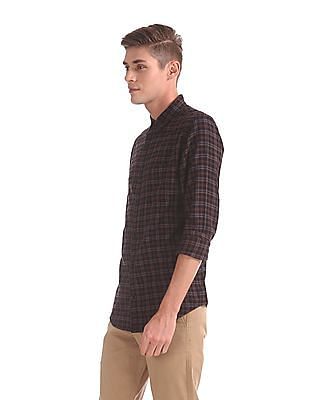 Roots by Ruggers Check Cotton Shirt