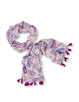 The Children's Place Girls Butterfly Print Scarf