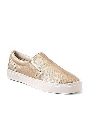 GAP Suede Slip On Sneakers