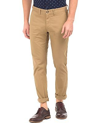 8d0eb6efd87 U.S. Polo Assn. Flat Front Trim Fit Chinos