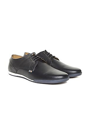 Arrow Sports Perforated Midfoot Leather Sneakers
