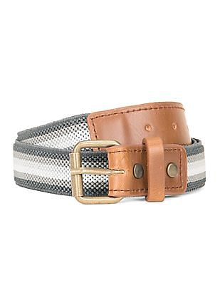 Cherokee Stretchable Striped Belt