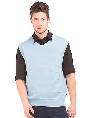 Nautica V-Neck Sleeveless Sweater