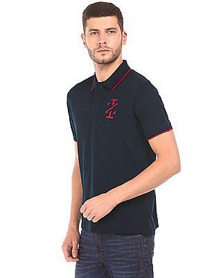 Izod Tipped Pique Polo Shirt