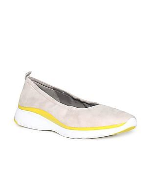 Cole Haan Zerogrand Ruched Slip On Ballet Flat