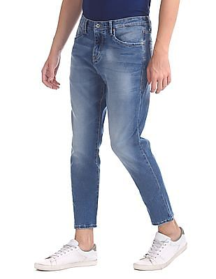 Flying Machine Mankle Slim Fit Whiskered Jeans