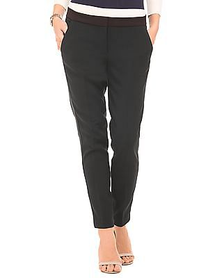 Nautica Regular Fit Ribbed Trim Pants