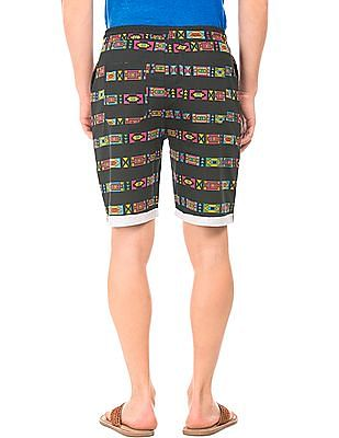 Colt Abstract Stripe Regular Fit Shorts