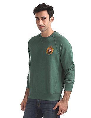 U.S. Polo Assn. Standard Fit Raglan Sleeves Sweatshirt