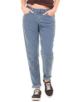 Newport Washed Slim Fit Jeans