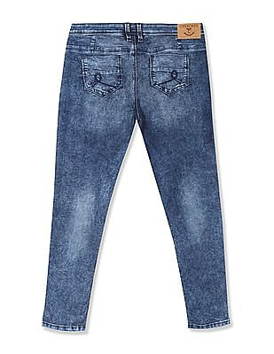 Cherokee Blue Washed Skinny Fit Jeans