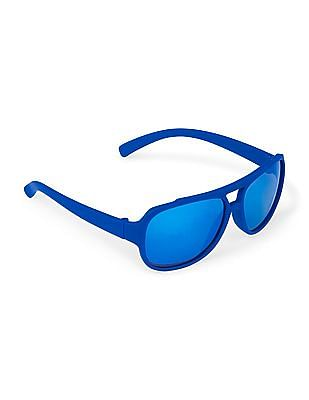 The Children's Place Toddler Boy Rubberized Sunglasses