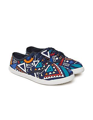 SUGR Printed Canvas Sneakers