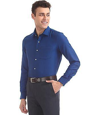 Arrow Slim Fit Jacquard Shirt