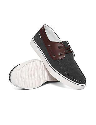 U.S. Polo Assn. Colour Block Boat Shoes