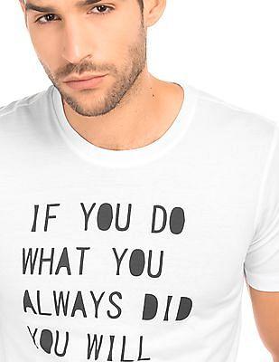 Colt Graphic Printed Cotton T-Shirt
