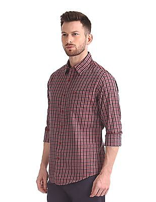 Roots by Ruggers Long Sleeve Checked Shirt