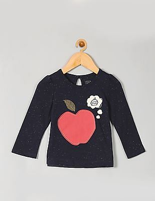 GAP Baby Apple Thoughts Nepped Tee