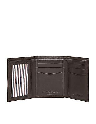 U.S. Polo Assn. Textured Leather Tri-Fold Wallet