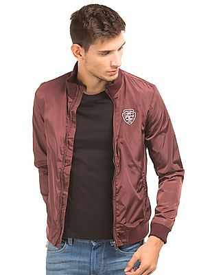 Flying Machine Slim Fit Bomber Jacket
