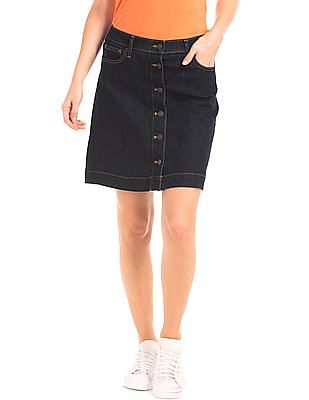 GAP 1969 Stretch Denim Mini Skirt