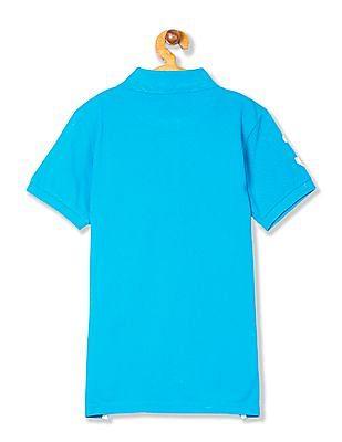 U.S. Polo Assn. Kids Boys Solid Pique Polo Shirt