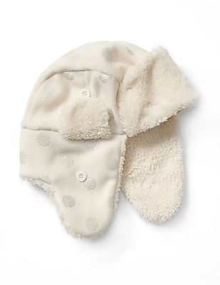 GAP Girls Pro Fleece Sherpa Trapper Hat