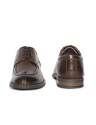 Arrow Burnished Leather Derby Shoes