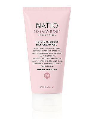 NATIO Rosewater Moisture Boost Day Cream Gel