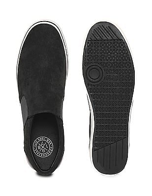 Aeropostale Textured Upper Slip On Shoes