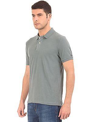 Arrow Sports Solid Regular Fit Polo Shirt