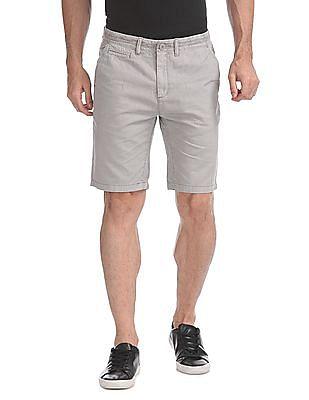 Cherokee Slim Fit Solid Shorts