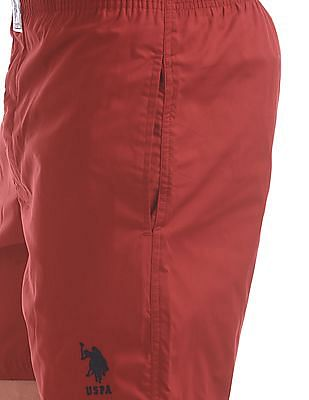 USPA Innerwear Regular Fit Solid Boxers