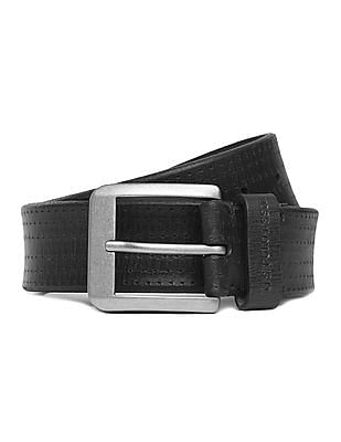 U.S. Polo Assn. Perforated Leather Belt
