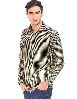Excalibur Slim Fit Spread Collar Shirt