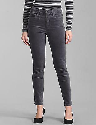 GAP High Rise True Skinny Ankle Jeans in Velvet