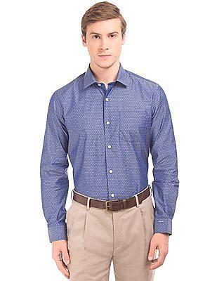 Arrow NFC Chip Jacquard Shirt