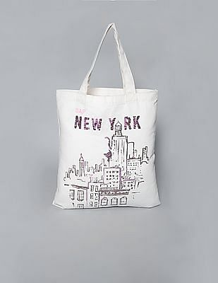 GAP Girls City Logo Tote