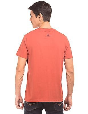 U.S. Polo Assn. Denim Co. Printed Crew Neck T-Shirt