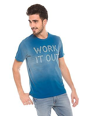 Izod Slim Fit Round Neck T-Shirt
