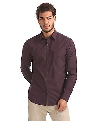 Izod Slim Fit Checked Shirt