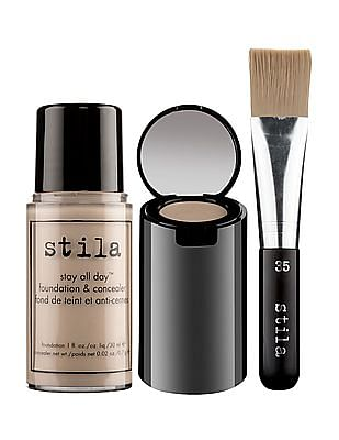 stila Stay All Day Foundation Concealer And Brush Kit - Fair 2